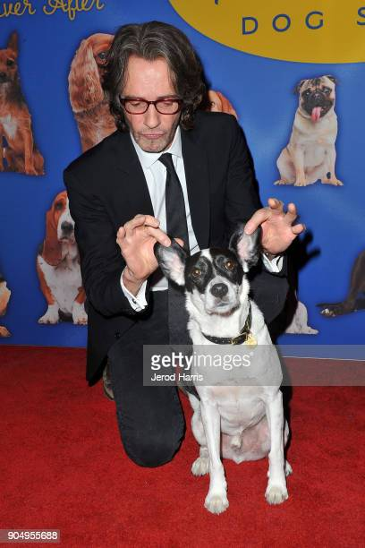 Rick Springfield arrives at 2018 American Rescue Dog Show on January 7 2018 in Beverly Hills California