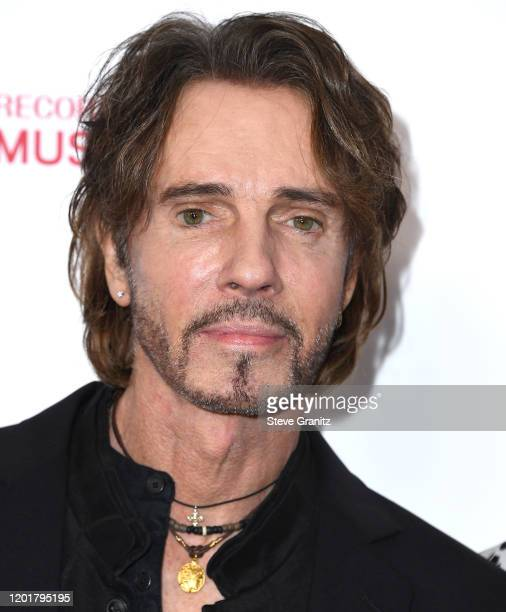 Rick Springfield arrives at the 2020 MusiCares Person Of The Year Honoring Aerosmith at West Hall At Los Angeles Convention Center on January 24,...