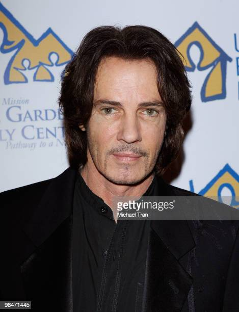 Rick Springfield attends the 'Hearts For Hope' fashion show and luncheon benefiting the Union Rescue Mission held at The Four Seasons Hotel on...