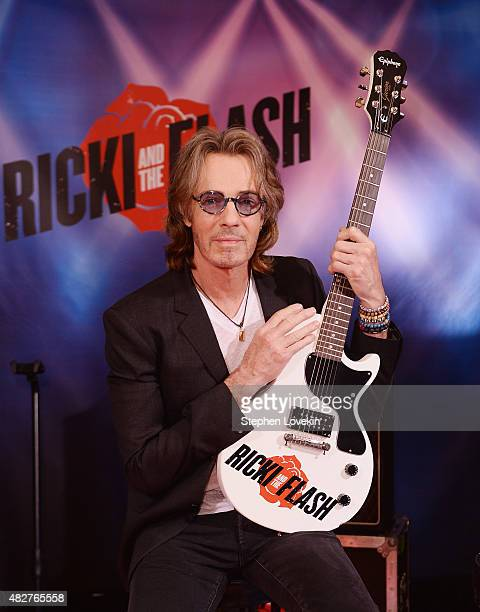 Rick Springfield attends the 'Ricki And The Flash' cast photo call at Ritz Carlton Hotel on August 2 2015 in New York City