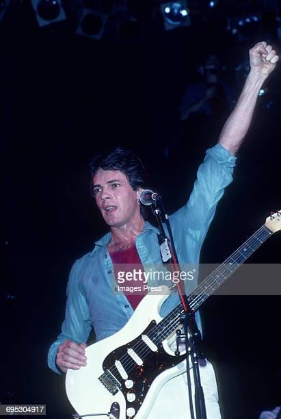 Rick Springfield in concert circa 1981 in New York City.