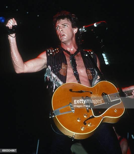 Rick Springfield in concert circa 1983 in New York City