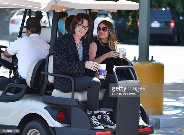 Rick Springfield is seen at 'Extra' on June 03 2014 in Los Angeles California