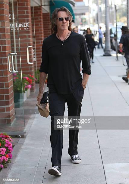 Rick Springfield is seen on June 27 2016 in Los Angeles California