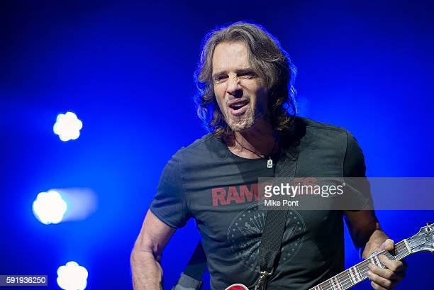 Rick Springfield performs at The Amphitheater at Coney Island Boardwalk on August 18, 2016 in New York City.