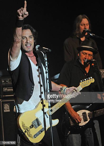 Rick Springfield performs at the Best Buy Theater on September 25, 2010 in New York City.