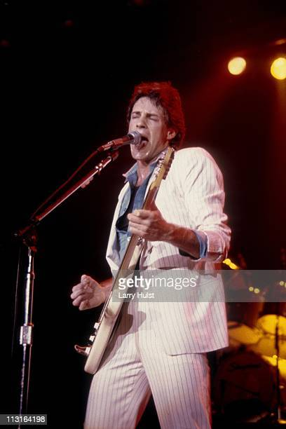 Rick Springfield performs at Warfield Theater in San Francisco California on February 2 1982