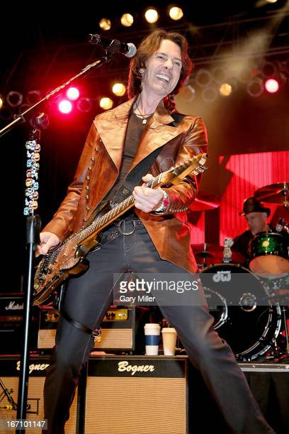 Rick Springfield performs in concert at The Backyard on April 19 2013 in Austin Texas