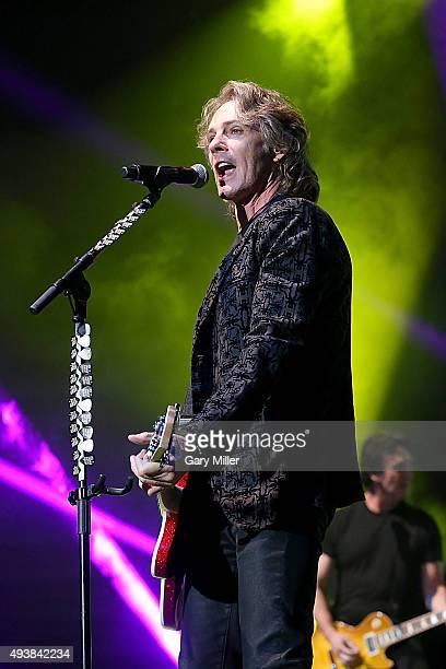 Rick Springfield performs in concert at the Cedar Park Center on October 22 2015 in Cedar Park Texas
