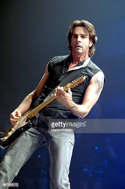 Rick Springfield performs on stage at Countdown Spectacular 2 at the Rod Laver Arena on 30th August 2007 in Melbourne, Australia.