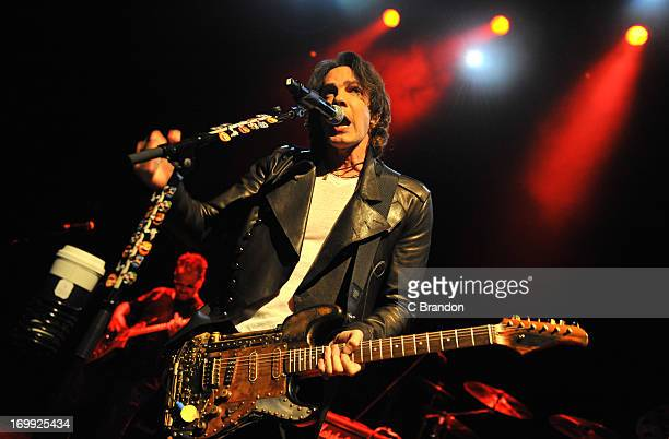 Rick Springfield performs on stage at O2 Shepherd's Bush Empire on June 4, 2013 in London, England.