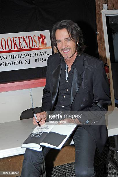 """Rick Springfield promotes """"Late, Late at Night"""" at Bookends Bookstore on October 13, 2010 in Ridgewood, New Jersey."""