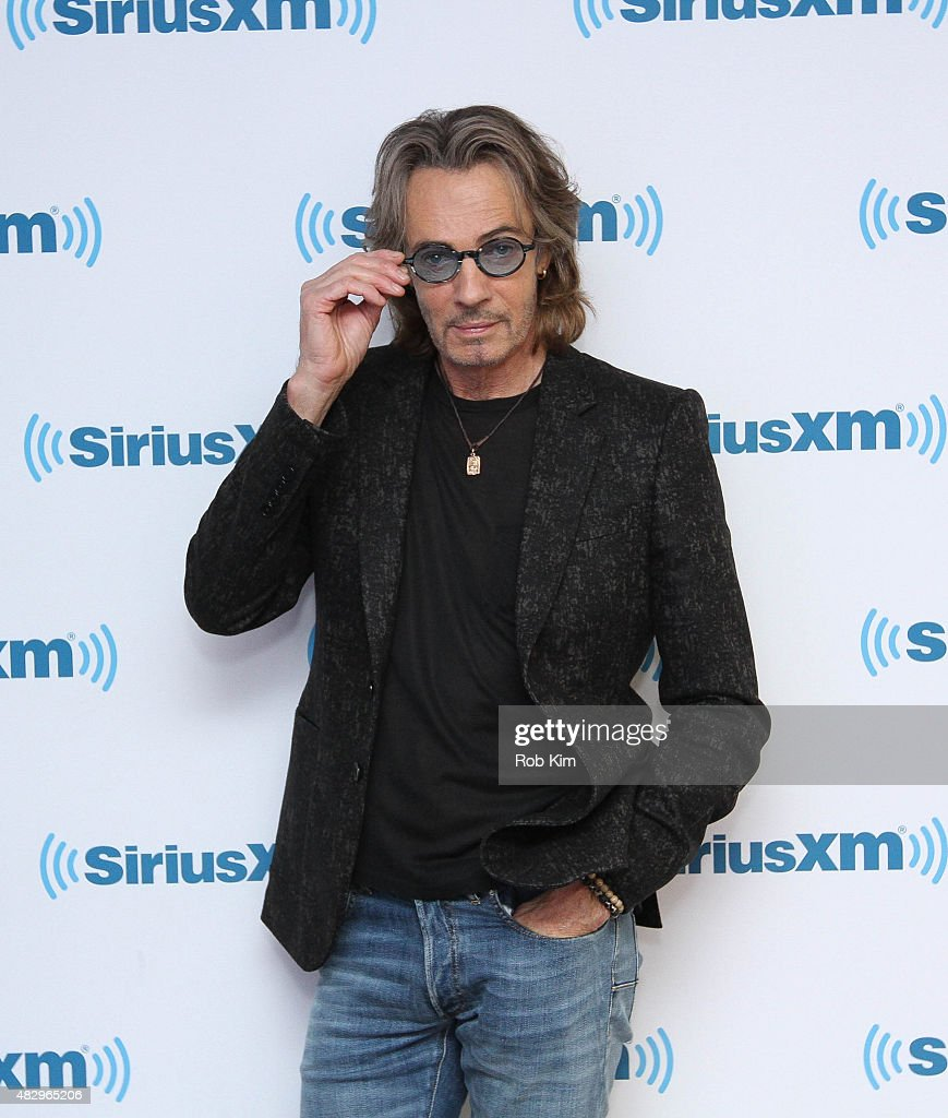 Rick Springfield visits at SiriusXM Studios on August 4, 2015 in New York City.