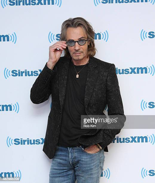 Rick Springfield visits at SiriusXM Studios on August 4 2015 in New York City