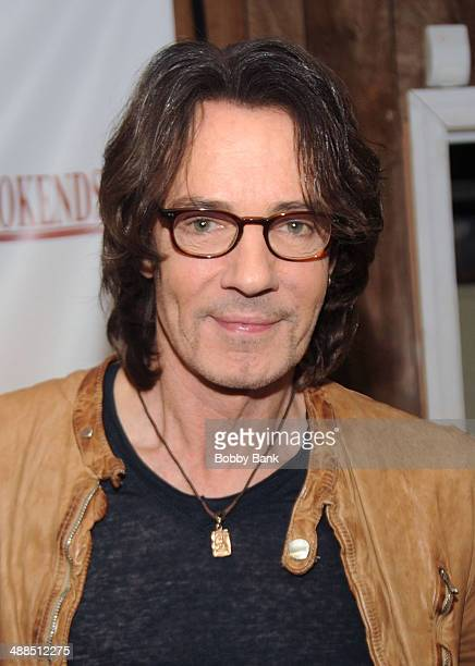 Rick Springfield visits Bookends Bookstore for his new book 'Magnificent Vibration' on May 6 2014 in Ridgewood New Jersey