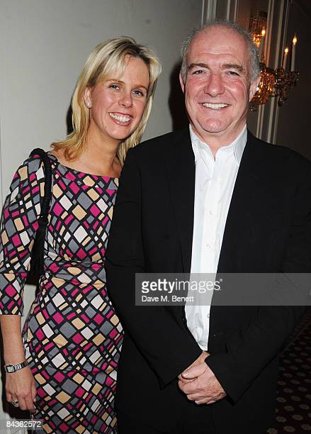 Rick Stein and partner Sarah attend the Tatler Restaurant Awards at the Mandarin Oriental Hotel on January 19 2009 in London England