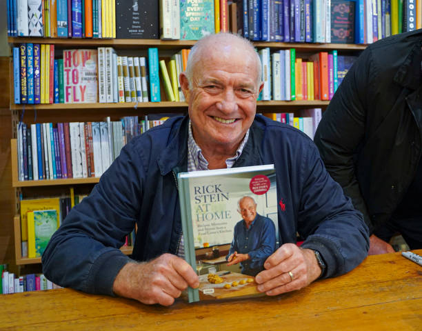 """GBR: """"Rick Stein At Home"""" By Rick Stein - Book Signing"""