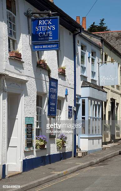 Rick Stein's cafe and shop in Padstow Cornwall UK