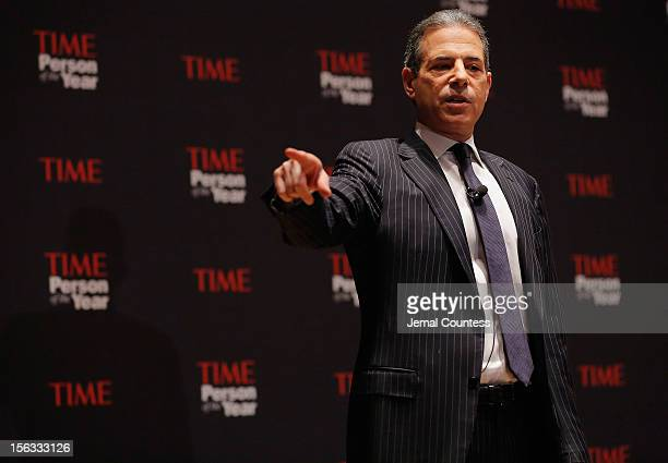 Rick Stengel attends TIME's Person of the Year panel on November 13 2012 in New York City