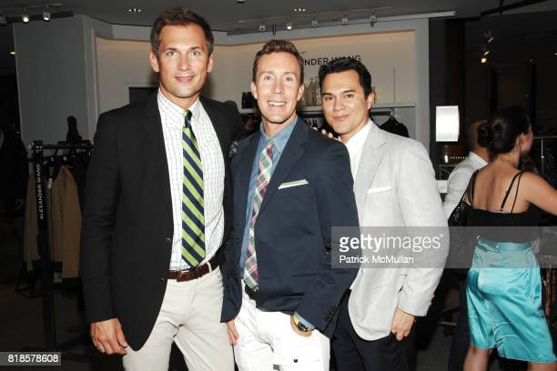 Rick Stiffler Eric Jennings and Roland Lay attend SAKS GQ Celebrate The Launch of GANT by MICHAEL BASTIAN and The American Reprinting of TAKE IVY at...