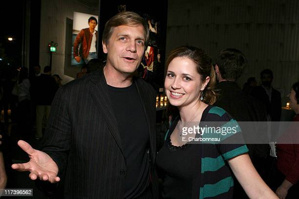 Rick Tetzeli managing editor of Entertainment Weekly and Jenna Fischer