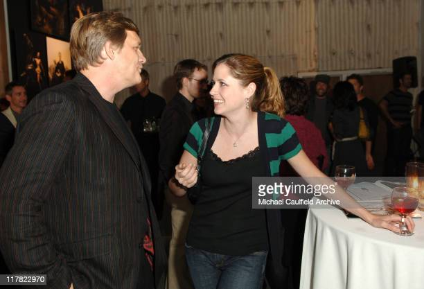 Rick Tetzeli managing editor of Entertainment Weekly and Jenna Fischer