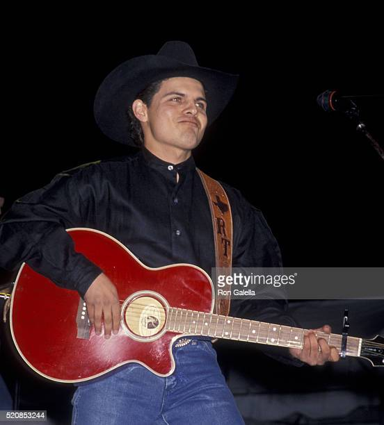 Rick Trevino attends First Annual Fanfest Concert on May 4 1994 at Pomona Fairgrounds in Pomona California