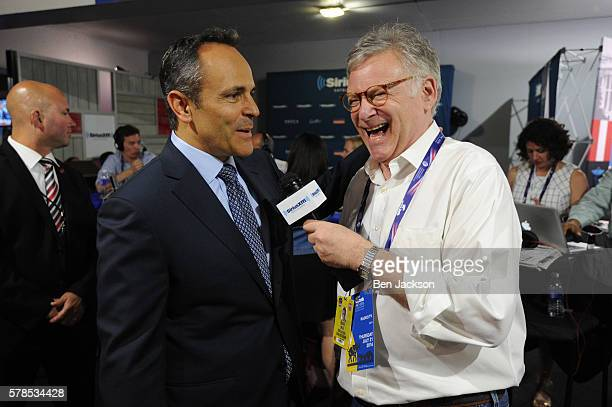 Rick Ungar reacts to a comment made by Kentucky Governor Matt Bevin during an interview on his show Steele and Ungar on SiriusXM POTUS at Quicken...