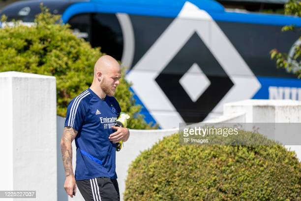 Rick van Drongelen of Hamburger SV during the training session of Hamburger SV on May 16 2020 in Herzogenaurach Germany