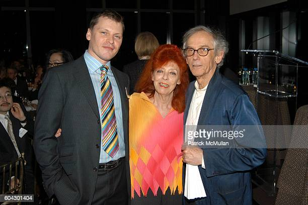 Rick Vilcek JeanneClaude and Christo attend THE VILCEK PRIZE Gala Dinner and Awards Presentation hosted by the THE VILCEK FOUNDATION at Mandarin...