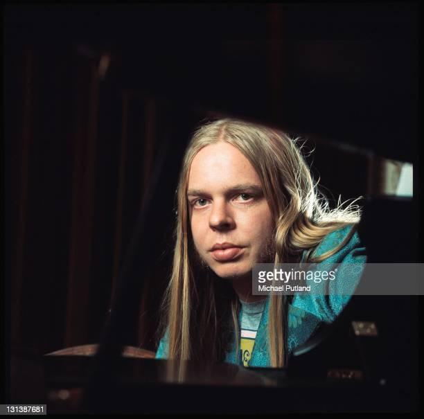 Rick Wakeman of Yes portrait London 1973