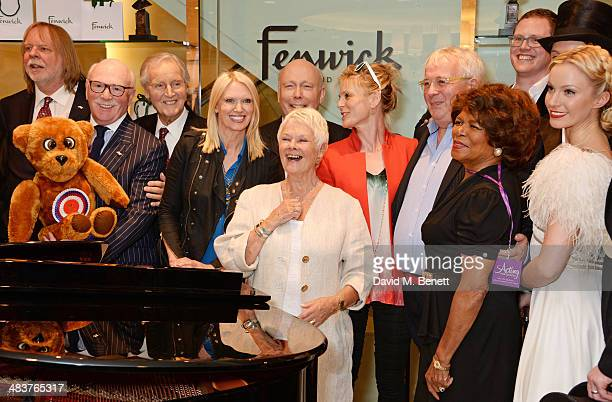 Rick Wakeman Roger De Courcey Nicholas Parsons Anneka Rice Dame Judi Dench Lord Julian Fellowes Emilia Fox Christopher Biggins Joan Hooley and the...