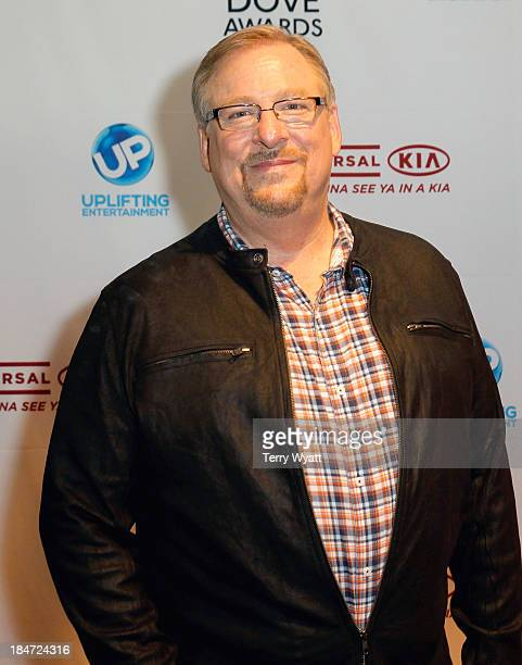 Rick Warren attends the 44th Annual GMA Dove Awards on October 15, 2013 in Nashville, Tennessee.
