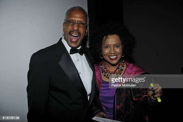 Rick White and Sherry Bronfman attend The 2010 Jazz Interlude Honoring Lois and Roland W Betts and Elizabeth Catlett at Museum of Modern Art on...