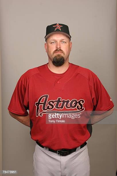 Rick White of the Houston Astros poses during photo day at Osceola County Stadium on February 28 2007 in Kissimmee Florida