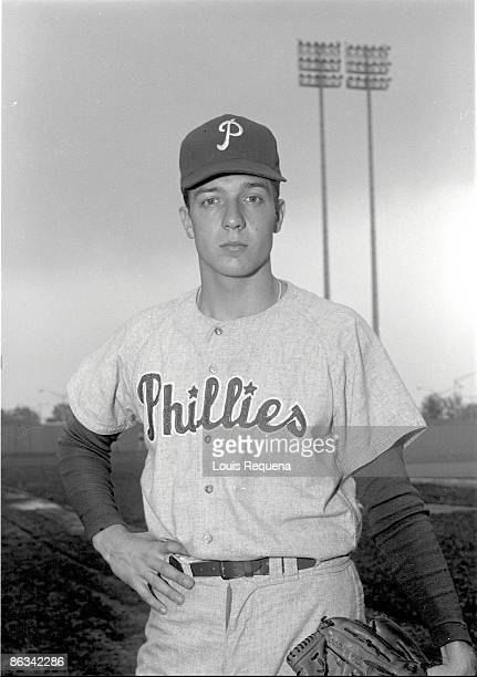 Rick Wise of the Philadelphia Phillies poses for a portrait during Spring Training Wise played with the Phillies in 1964 and from 19661971
