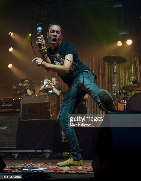 Rick Witter of Shed Seven performs during Isle Of Wight Festival 2021 at Seaclose Park on September 17, 2021 in Newport, Isle of Wight.