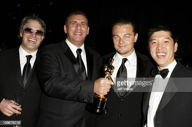 Rick Yorn Graham King producer winner Best Picture for The Departed Leonardo DiCaprio and Dan Lin
