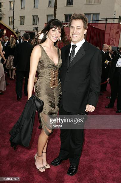 Rick Yorn of The Firm and wife Christina during The 77th Annual Academy Awards Executive Arrivals at Kodak Theatre in Hollywood California United...
