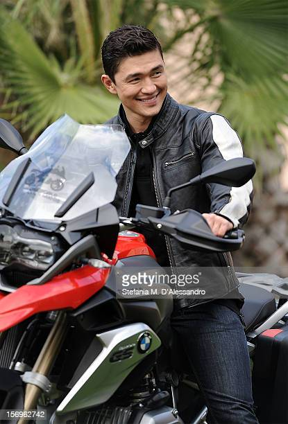 Rick Yune attends BMW 'Ride of your Life' Promotion Event on November 15 2012 in Rome Italy