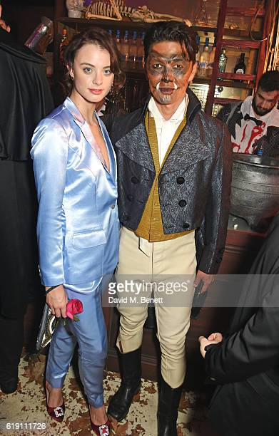 Rick Yune attends Halloween at Annabel's at 46 Berkeley Square on October 29 2016 in London England