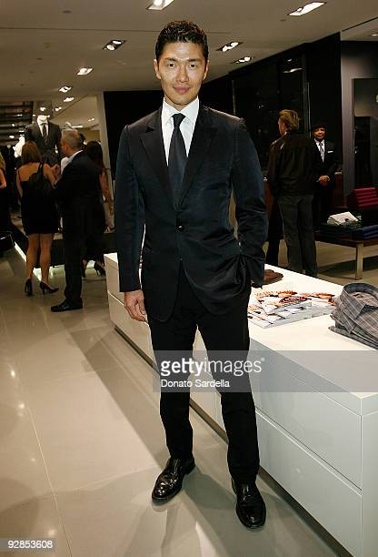 Rick Yune attends Hugo Boss Vanity Fair with Elizabeth Banks Host Children's Hospital Los Angeles Benefit on November 5 2009 in Beverly Hills...