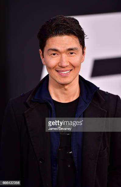 Rick Yune attends 'The Fate Of The Furious' New York premiere at Radio City Music Hall on April 8 2017 in New York City