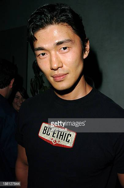 Rick Yune during Allison Melnick's Farewell Party at Concorde in Hollywood California