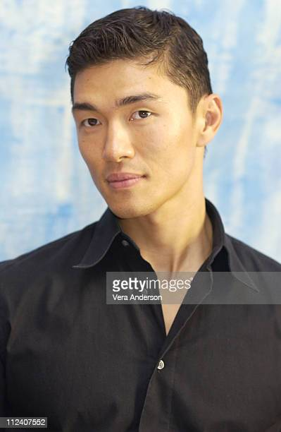Rick Yune during Die Another Day Press Conference with Halle Berry Lee Tamahori Rosamund Pike Toby Stephens and Rick Yune at The Four Seasons Hotel...