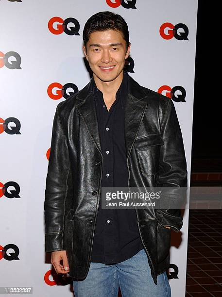 Rick Yune during GQ Magazine 2004 NBA AllStar Party Arrivals at Astra West in West Hollywood California United States