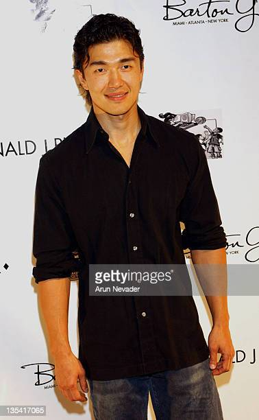 Rick Yune during Grand Opening Of The Donald J Pliner Boutique In Beverly Hills Benefiting The Mark Wahlberg Youth Foundation Arrivals at Donald J...