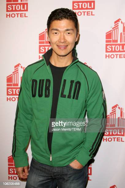 Rick Yune during Grand Opening of the Stoli Hotel in Hollywood May 2 2007 at Stoli Hotel in Hollywood California United States