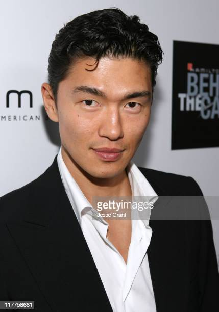 Rick Yune during Hamilton and Hollywood Life Behind The Camera Awards Red Carpet at The Highlands in Hollywood California United States