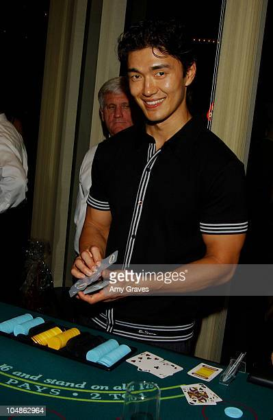Rick Yune during Junior League of Los Angeles 2nd Annual Viva Los Angeles Casino Night at Sony Pictures Plaza in Culver City California United States